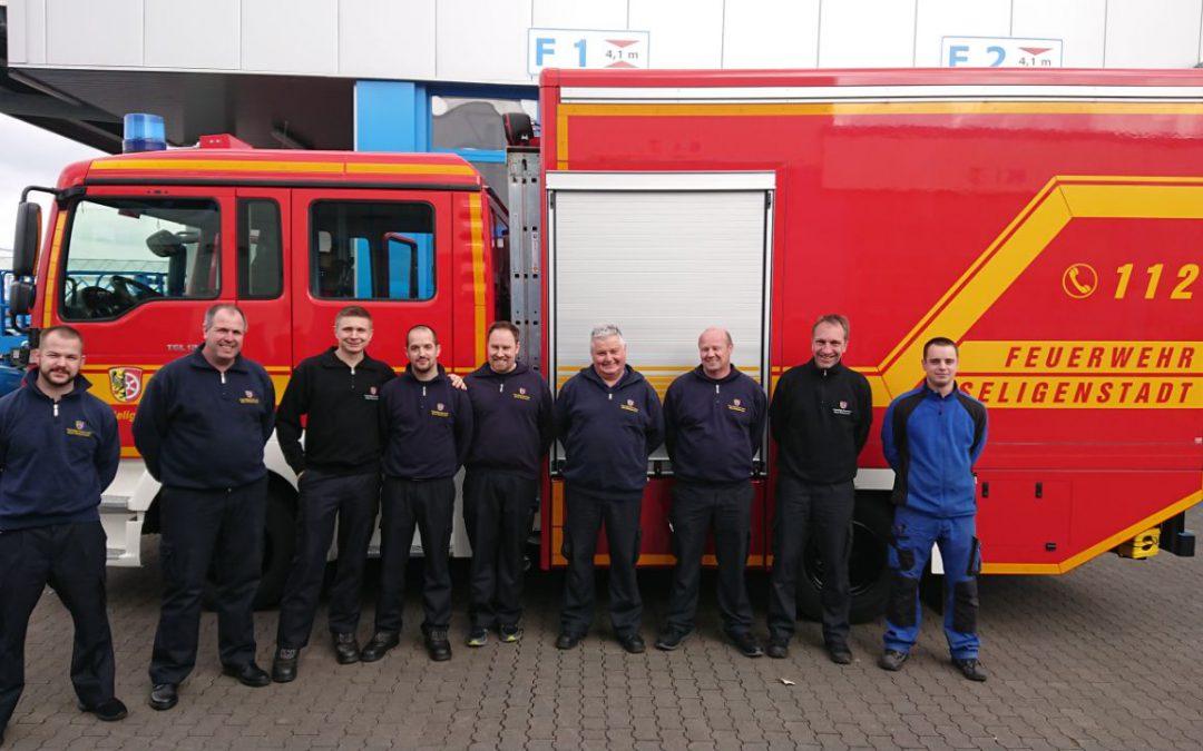 Neues Fahrzeug für die Feuerwehr Klein-Welzheim
