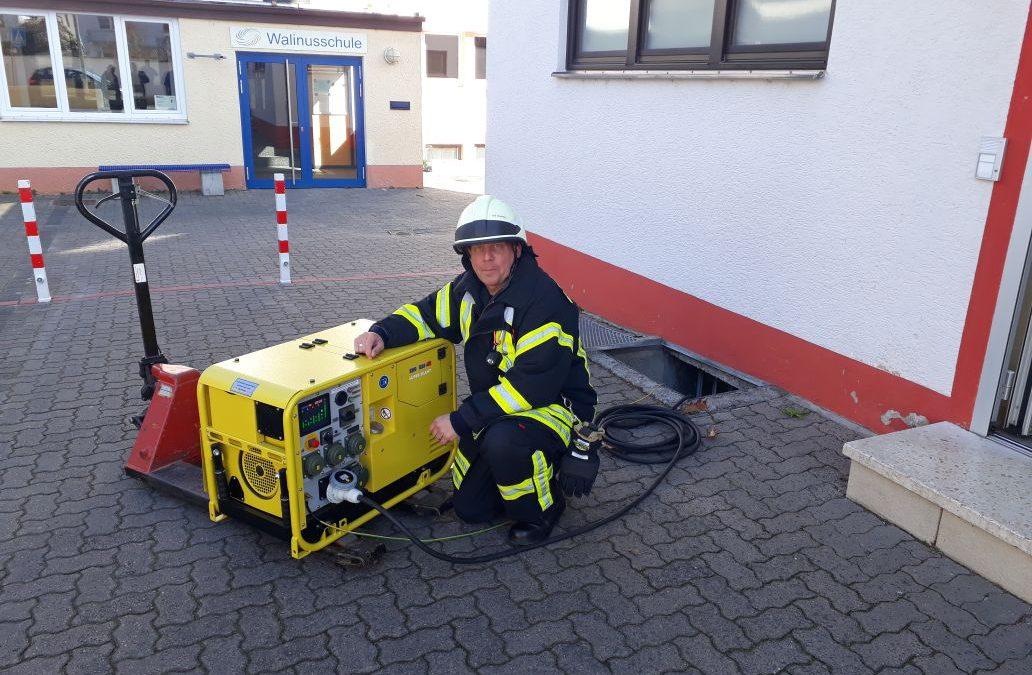 Feuerwehrhaus mit autarker Stromversorgung
