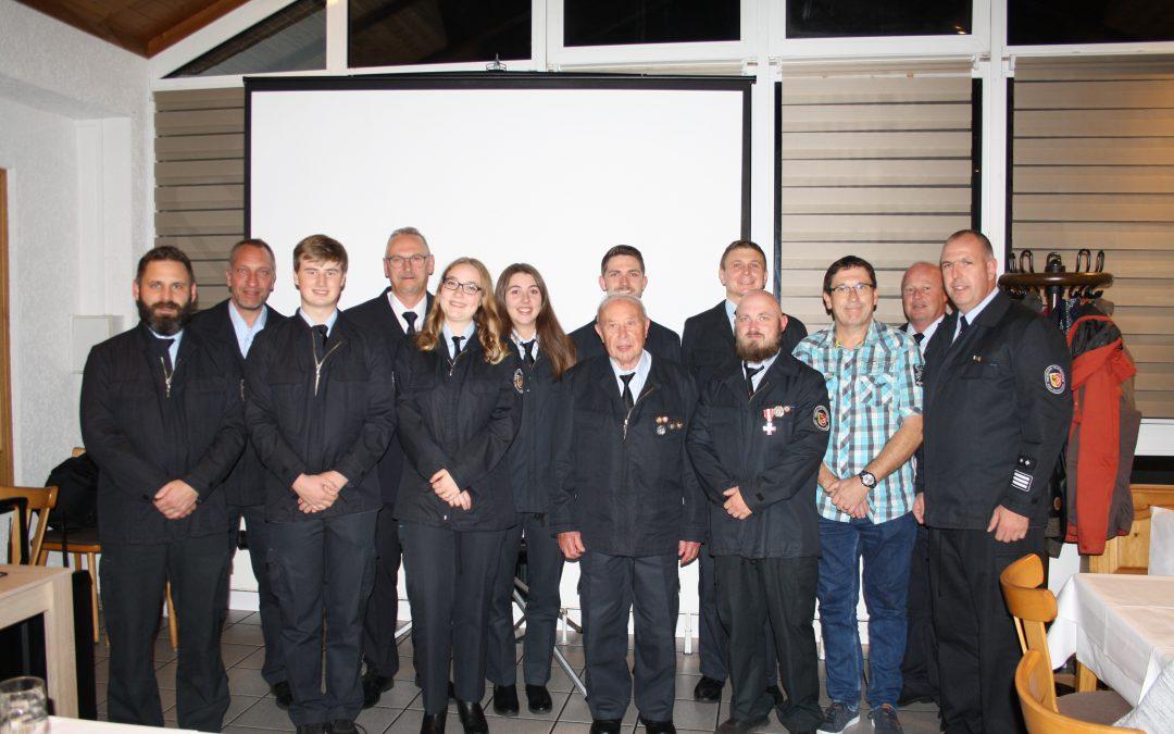 Kameradschaftsabend bei der Feuerwehr Klein-Welzheim