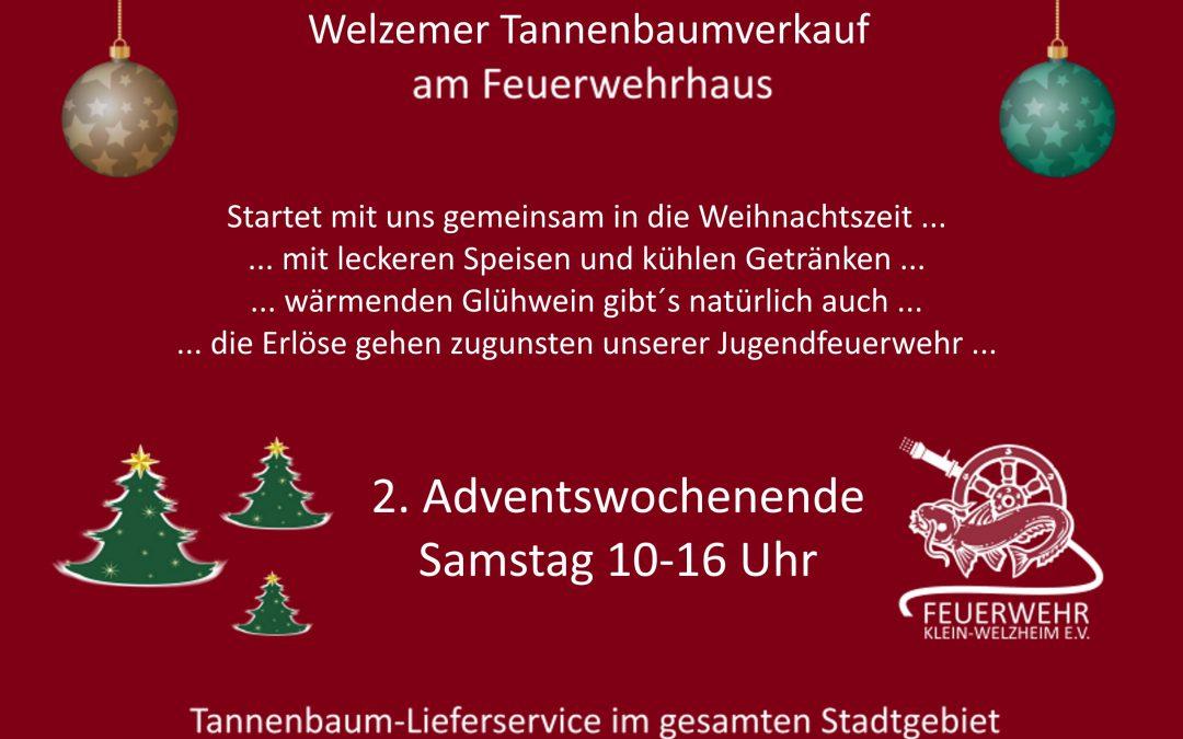 Welzemer Tannenbaumverkauf am Feuerwehrhaus 2019